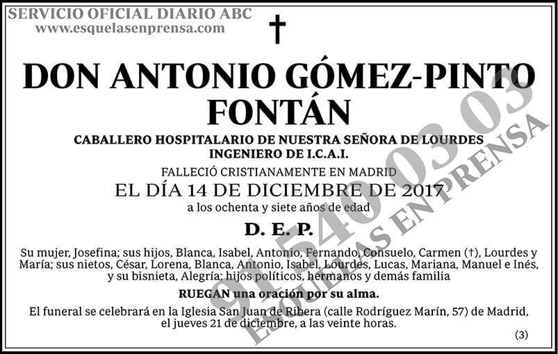 Antonio Gómez-Pinto Fontán